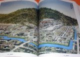 Japanese Famous Castle by Bird's-eye View Illustration book Japanese