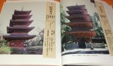 Japanese Hundred Famous Towers book Japan temple castle architecture
