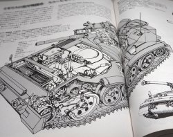 Photo1: The World Tanks, Mechanical Pictorial Guide book from Japan Japanese