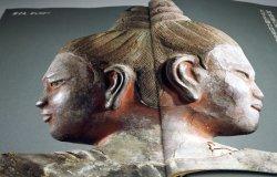 Photo1: Japanese Buddharupa in Nara Full‐Scale Photo book Japan Buddha statue