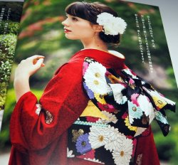 Photo1: Japanese Kimono OBI 207 Pattern How To Tie book from Japan