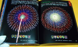 Photo1: pictorial book of Japanese Fireworks from japan