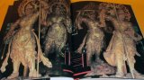 KIRIKANE - Japanese Gold Leaf Traditional Art book statue of Buddha