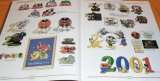 RARE The Art of Disney PINS book Mickey Minnie Pooh Goofy Donald Alice