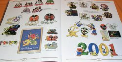 Photo1: RARE The Art of Disney PINS book Mickey Minnie Pooh Goofy Donald Alice