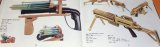 RUBBER BAND GUNS (RBG) OFFICIAL GUIDE BOOK japan japanese pistol