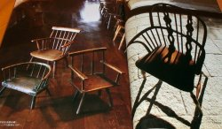 Photo1: THE WINDSOR CHAIR book wooden furniture