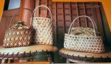 Rare! Rattan Tote Bag book Craft book from Japan Japanese basket