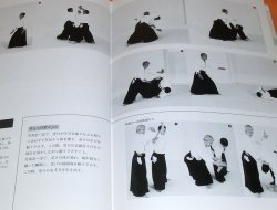 Photo1: RARE ! Model of Aikido (Application) book from Japan Japanese martial art