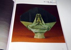 Photo1: Make Buddha Sculpture by ORIGAMI (paper folding) book buddhist statue