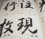 Basics of Japanese Calligraphy illustrated book from Japan