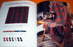 Photo1: Tartan & Tweed Scottish Check Design and Ideas Book Scotland Japanese