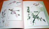 Japanese Color Ink Wash Painting Picture in India Ink Book from Japan