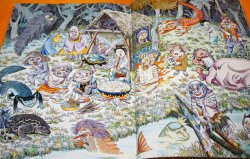 Photo1: Shigeru Mizuk Japanese Monster YOKAI Japan Local Map Book KAPPA ONI TENGU