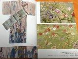 Floral design Japanese KIMONO Picture book Meiji Taisho Showa eras in Japan