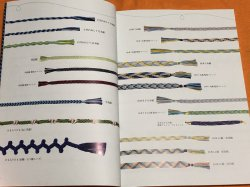 Photo1: KUMIHIMO  Traditional Japanese artform of making Braids and Cords Book